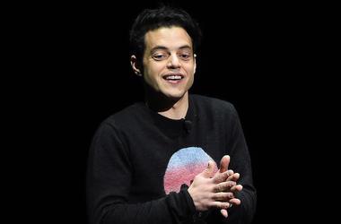 Rami Malek, Talking