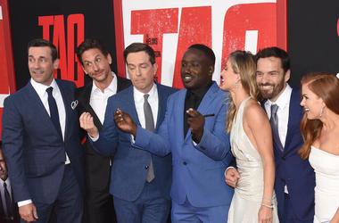 Jon Hamm, Jake Johnson, Ed Helms, Jeremy Renner, Hannibal Burress, Tag, Movie, Premier