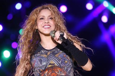 Shakira, Concert, Smiling, Cedars International Festival, 2018
