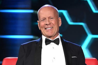 Bruce Willis, Smiling, Tuxedo