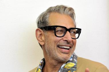 Jeff Goldblum, Tan Suit, Smile, Red Carpet