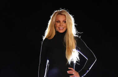 Britney Spears, Appearance, Stage, Black, Toshiba Plaza, 2018