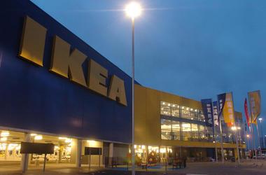 Ikea, Store, Front, Logo, 2018