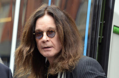 Ozzy Osbourne, Unimpressed, Train, Staring, Sunglasses, 2018