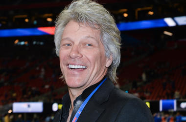 Jon Bon Jovi, Smile, Pregame, Field, Super Bowl LIII, Georgia
