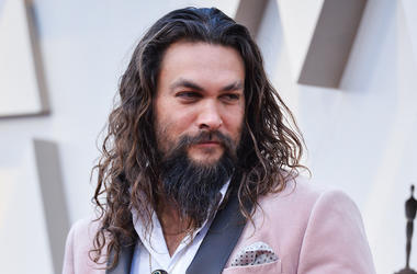 Jason Momoa, Pink Suit, Red Carpet, 91st Academy Awards, 2019