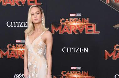Brie Larson, Red Carpet, Captain Marvel, Premiere, Hollywood, 2019