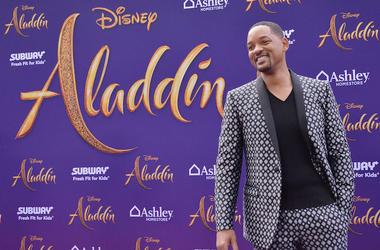 Will Smith, Aladdin, Premiere, Los Angeles, Red Carpet, Smile, 2019