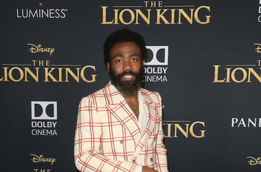 Donald Glover, Red Carpet, The Lion King, Premiere, Dolby Theatre, 2019