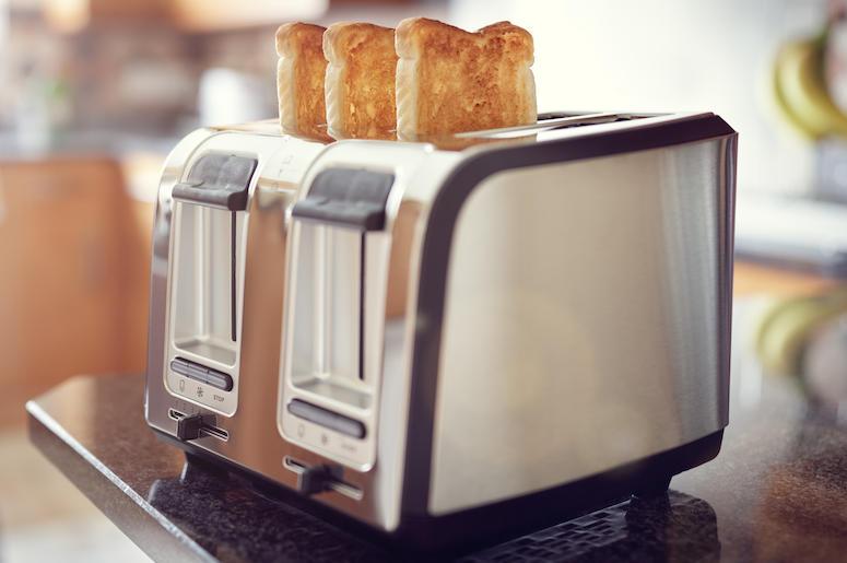 Toast, Bread, Toaster, Kitchen