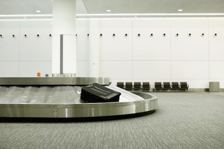 Baggage Claim, Airport, Empty, Luggage, Turn Style
