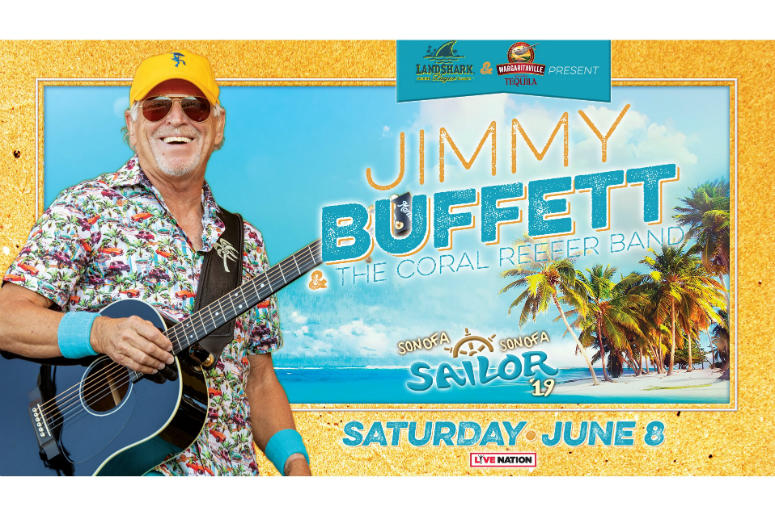 Jimmy Buffett & The Coral Reefer Band | 100 3 Jack FM