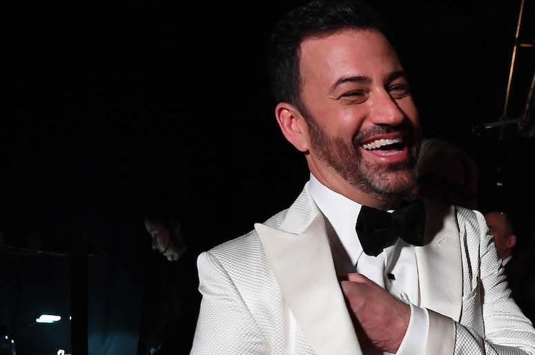 Jimmy Kimmel, Tux, Laughing, Smiling