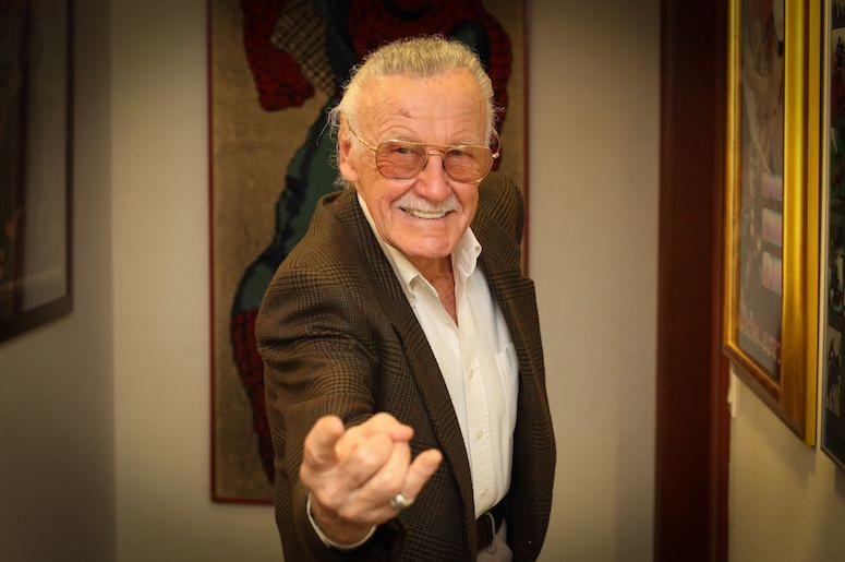 Stan Lee, MegaCon, Spider-Man Pose, Smile, 2018