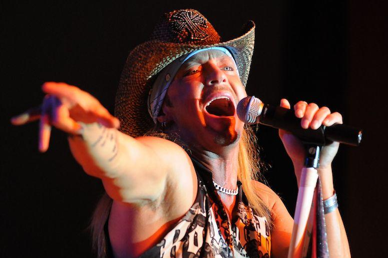 Bret Michaels, Posion, Singing, Concert, Oneida Bingo & Casino, 2010