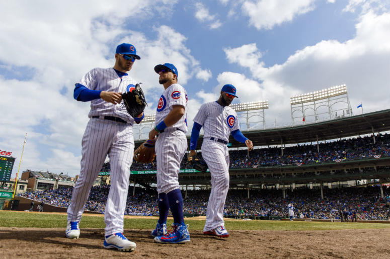 Cubs At Home Opener