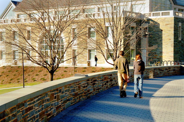 Students, Walking, College, Campus, University