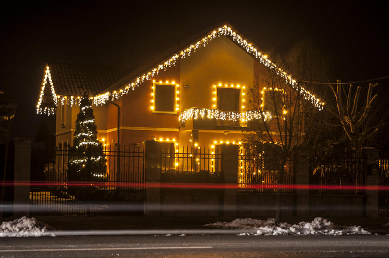 Christmas Vacation House Lights.Family Turns Their House Into Home From Christmas Vacation