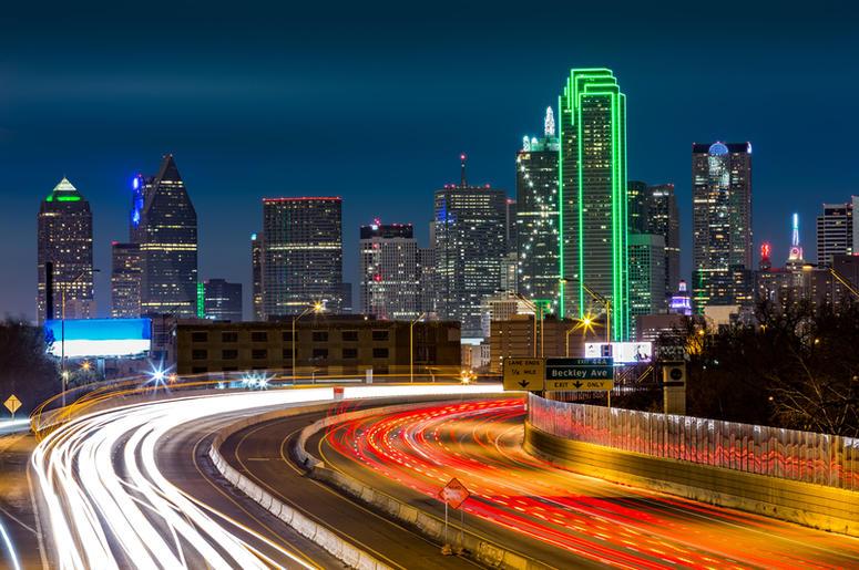 Dallas freeway
