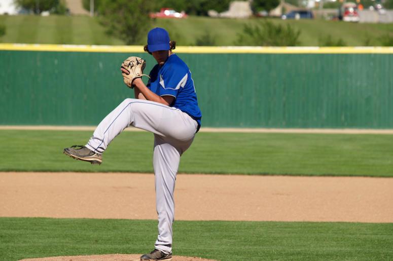 Baseball, Pitcher, Wind Up, Throw