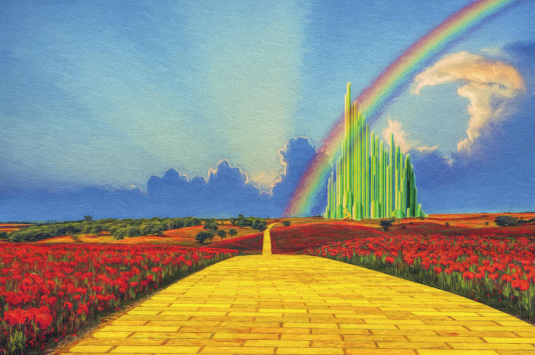 Yellow Brick Road, Wizard of Oz, Emerald City