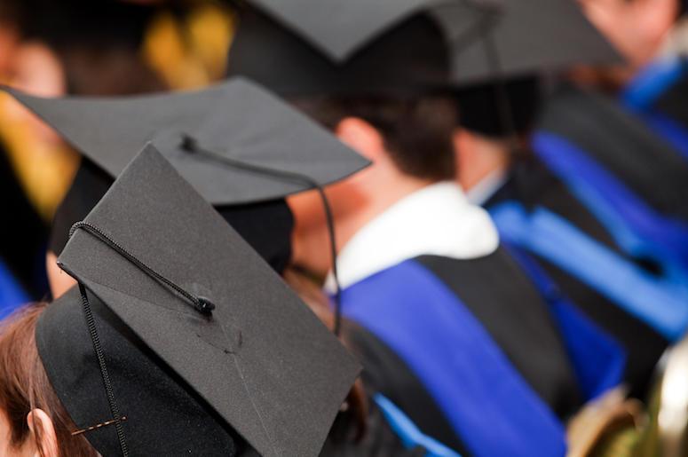 Students, Graduation, Robes, Hats