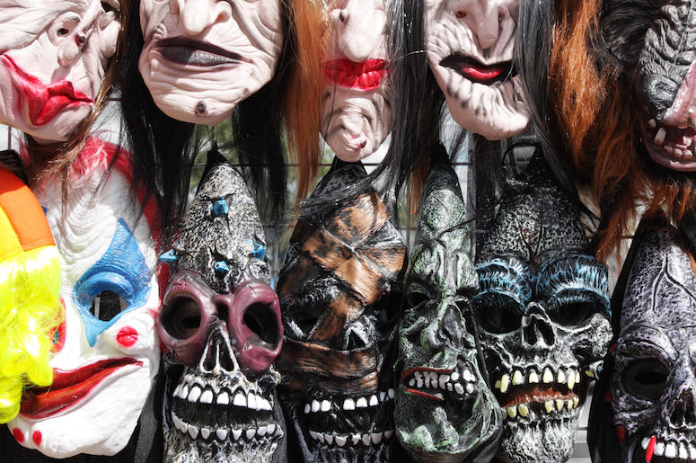 Halloween, Masks, Scary, Store