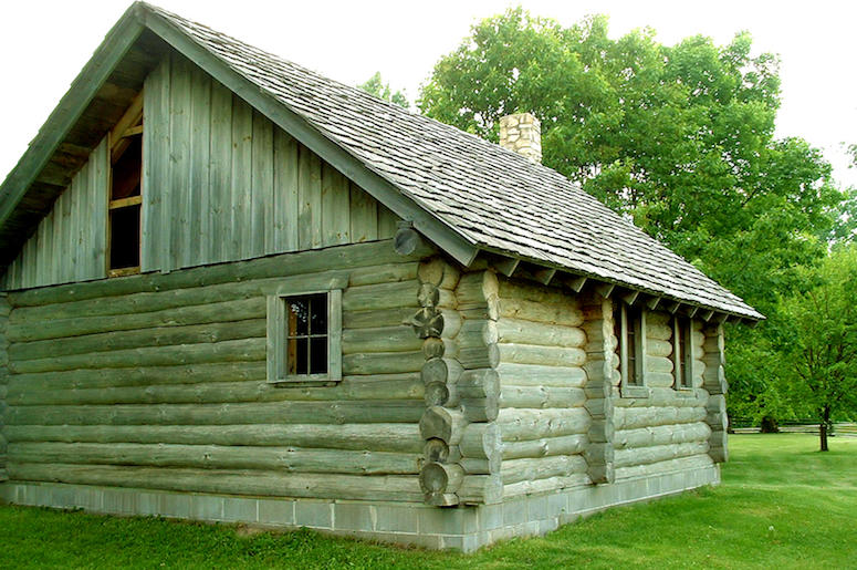 Laura Ingalls Wilder, Little House on the Prairie, Little House in the Big Woods, Cabin