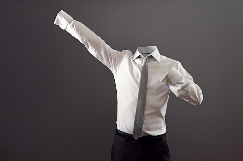 Invisible Man, Shirt, Tie