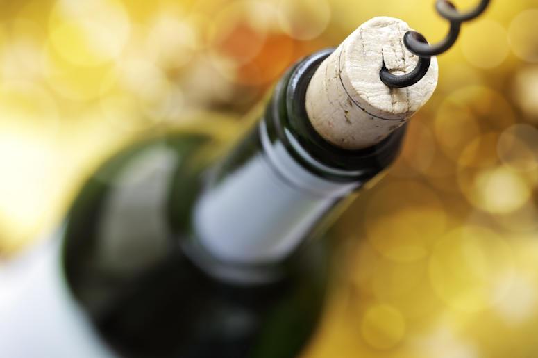 Wine, Bottle, Corkscrew