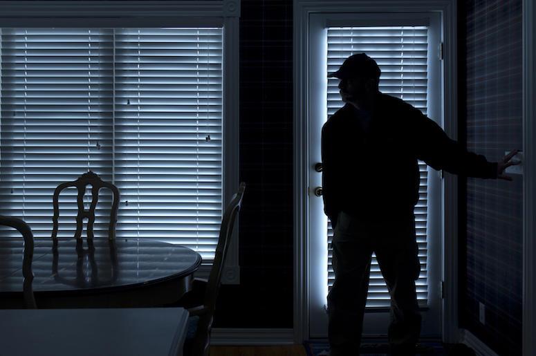 Burglar, Home, Night