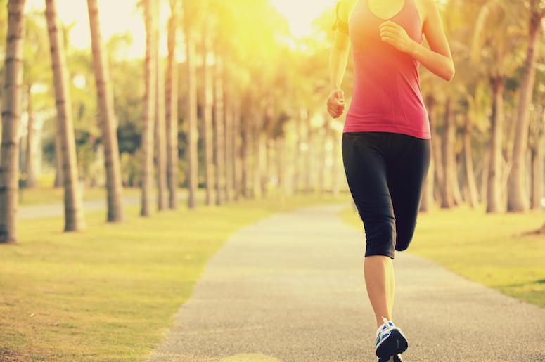Woman, Runner, Jogging, Running, Trail, Jogger