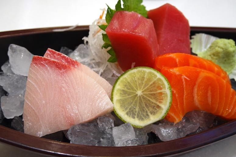 Raw, Seafood, Sushi, Sashimi