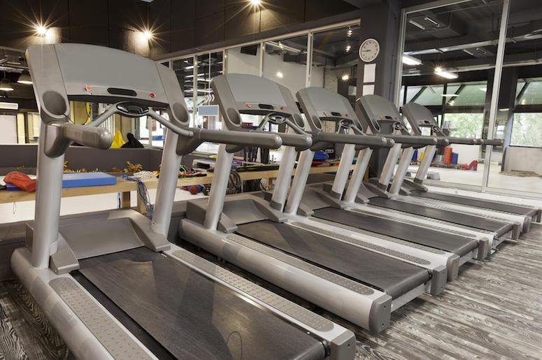 Treadmills, Gym