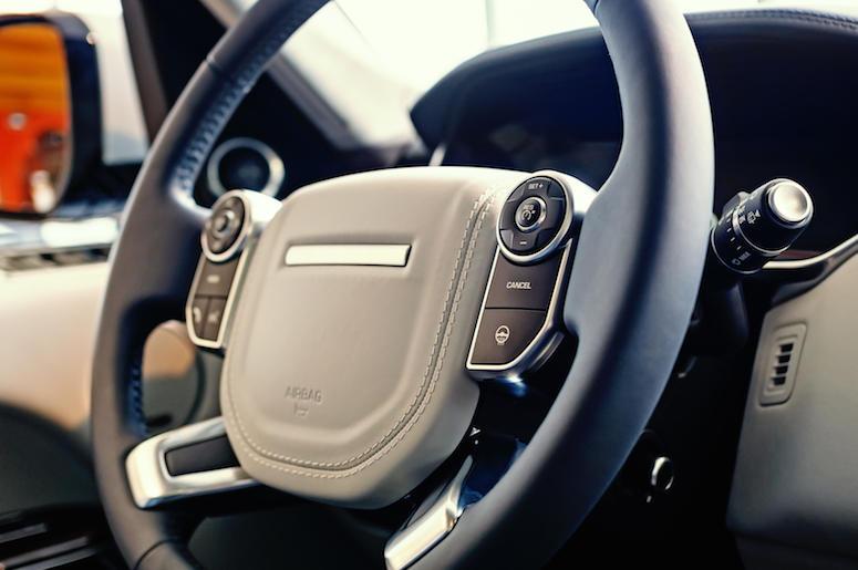 SUV, Interior, Steering Wheel