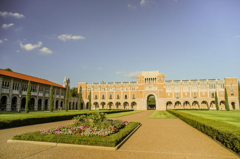 Rice University, Courtyard
