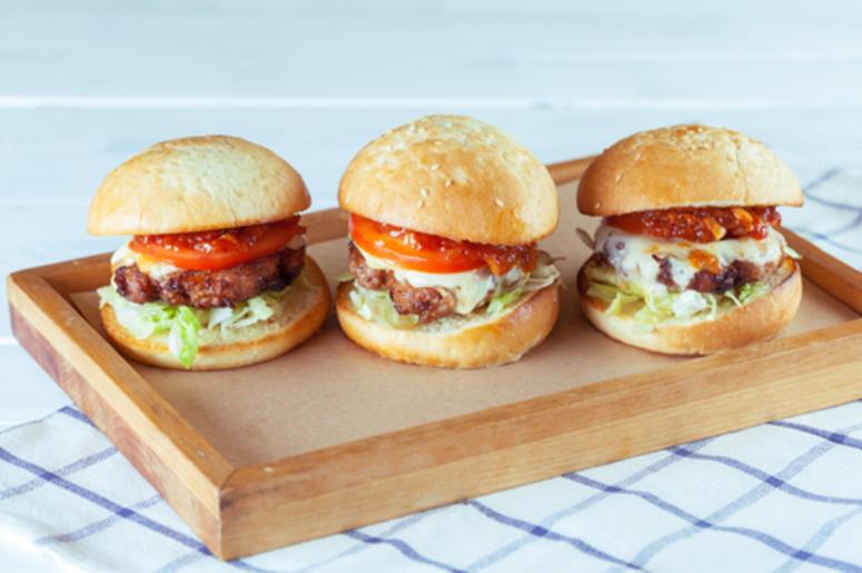 Three Burgers