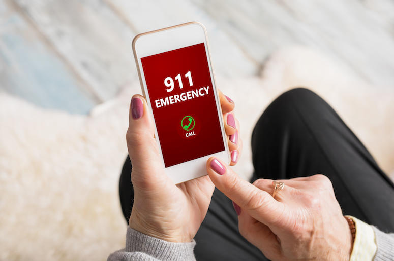 911, Emergency, Phone Call, Cell Phone, Hands, Dialing
