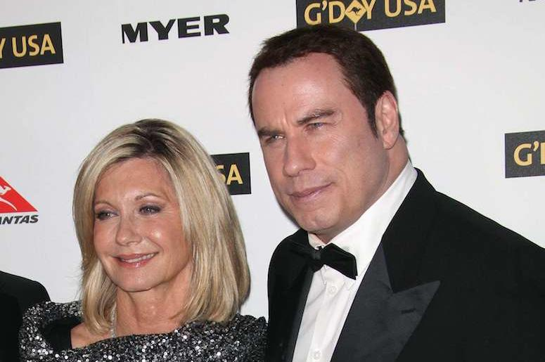 John Travolta, Olivia Newton-John, Red Carpet