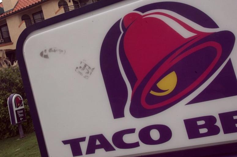 Taco Bell, Sign, California, Hotel, 2005