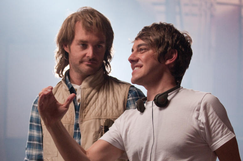 Will Forte, Jorma Taccone, MacGruber, Film, Directing, On Set