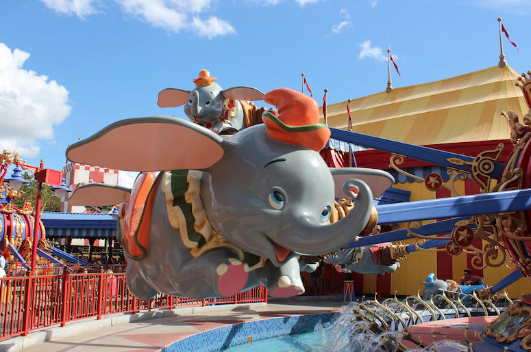 Image result for dumbo ride