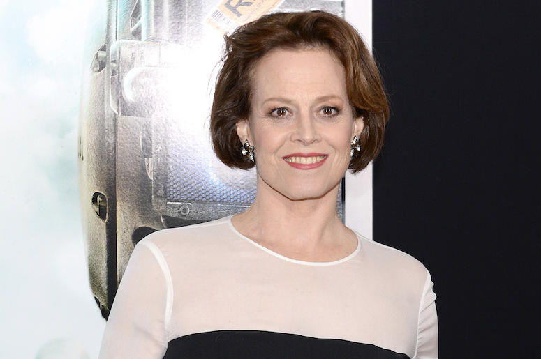 Sigourney Weaver, Red Carpet, Chappie, Premiere, 2015