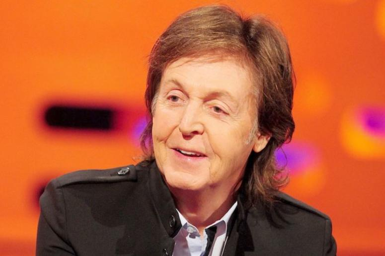 Paul McCartney, Smiling, Talking