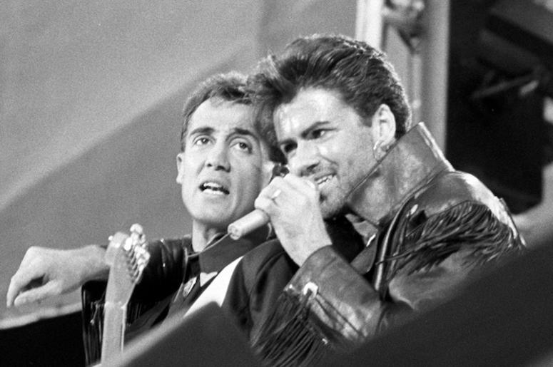 George Michael, Andrew Ridgeley, Wham, Concert