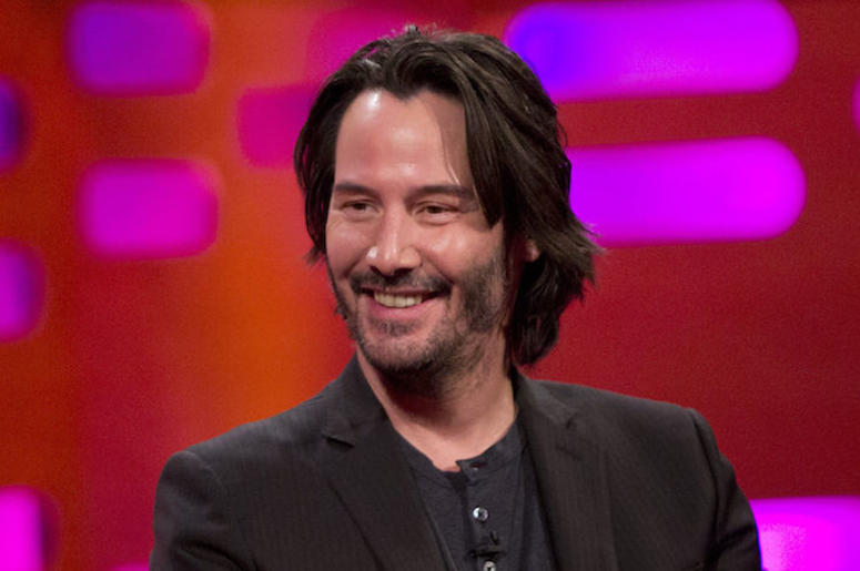 Keanu Reeves, Smiling, Graham Norton, Interview, 2017