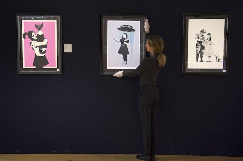 Banksy, Paintings, Museum