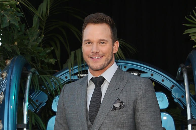 Chris Pratt, Suit, Red Carpet, Smile