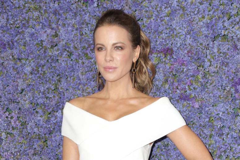 Kate Beckinsale, Red Carpet, Gala, White Dress, 2018