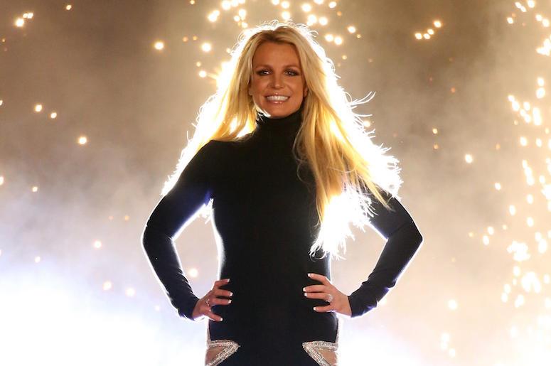 Britney Spears, Concert, Las Vegas, Lights, Bright, 2018